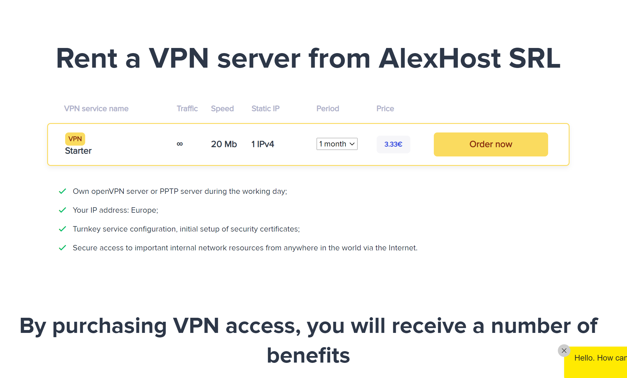 AlexHost VPN service review