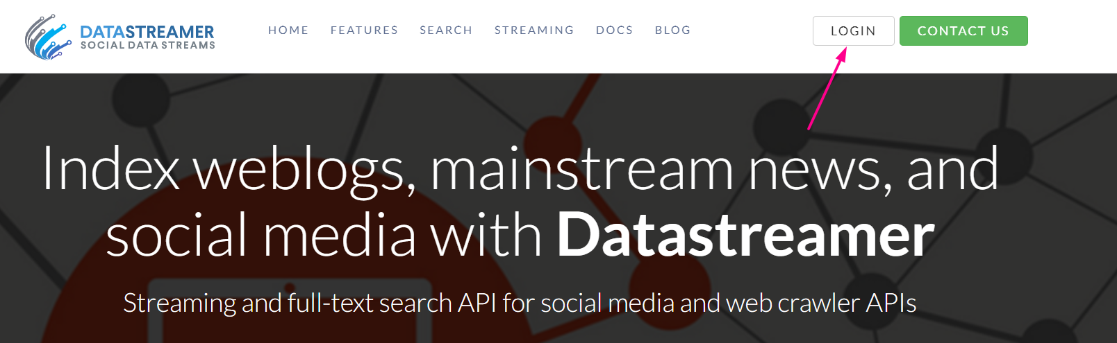DataStreamer - Overview