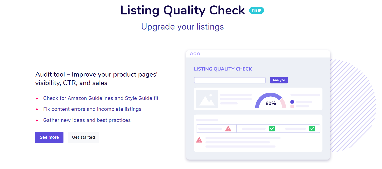 Listing Quality Check
