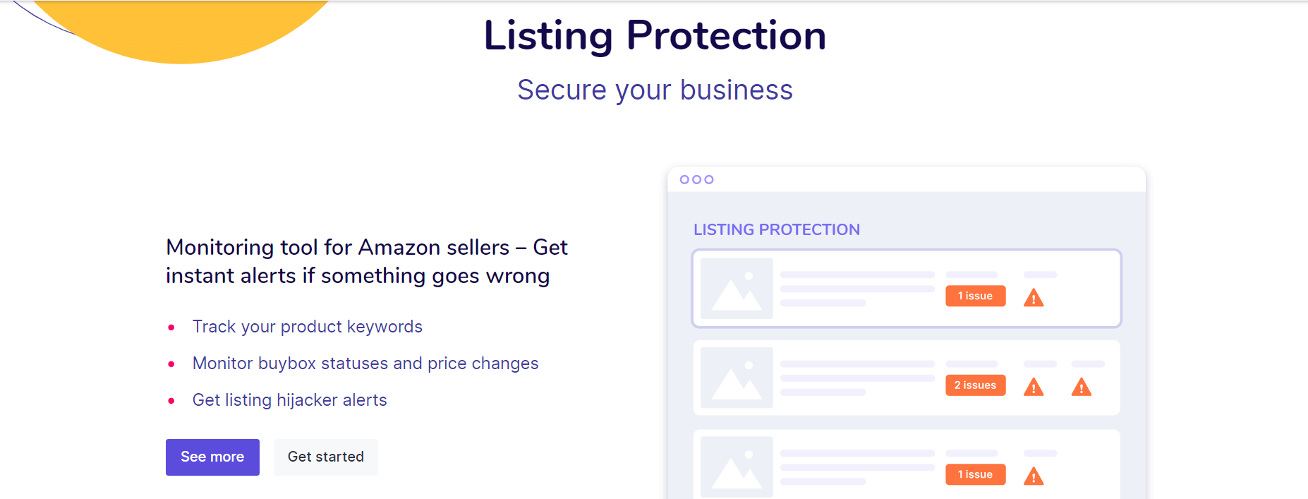 Listing Protection