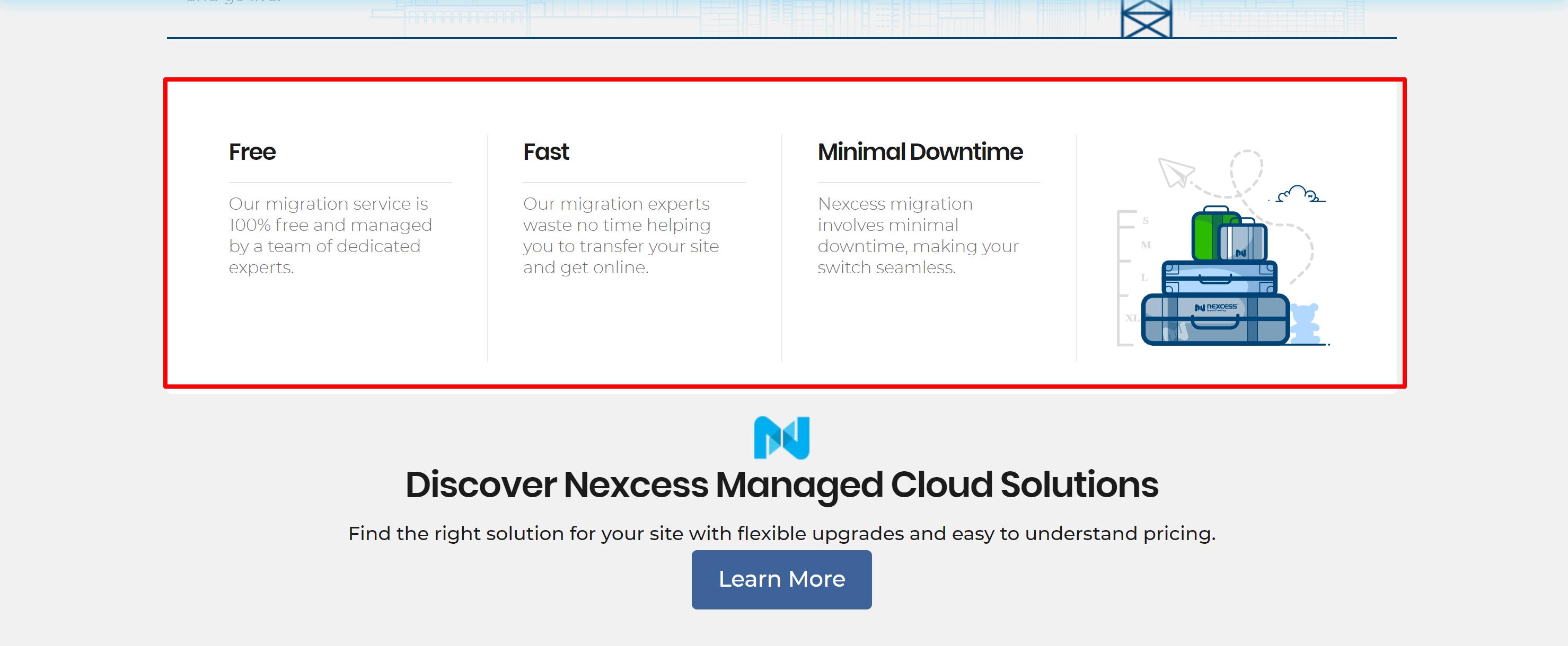 Nexcess migration- cloudways vs nexcess