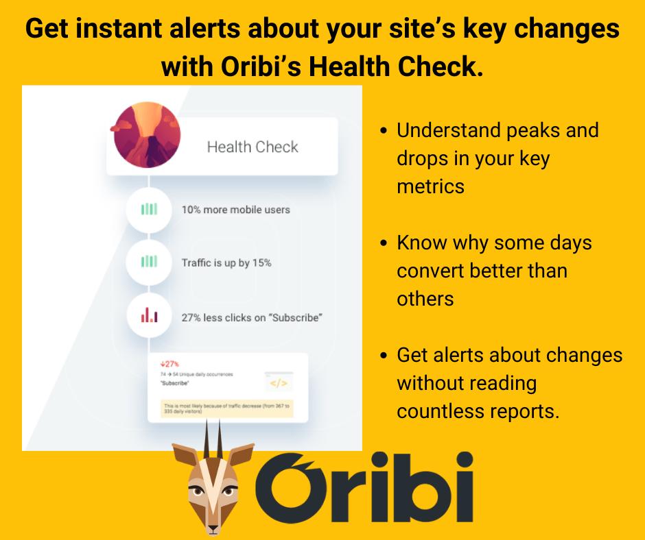 Oribi health check
