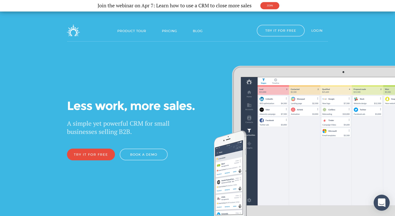Salesflare CRM - best agile CRm alternatives