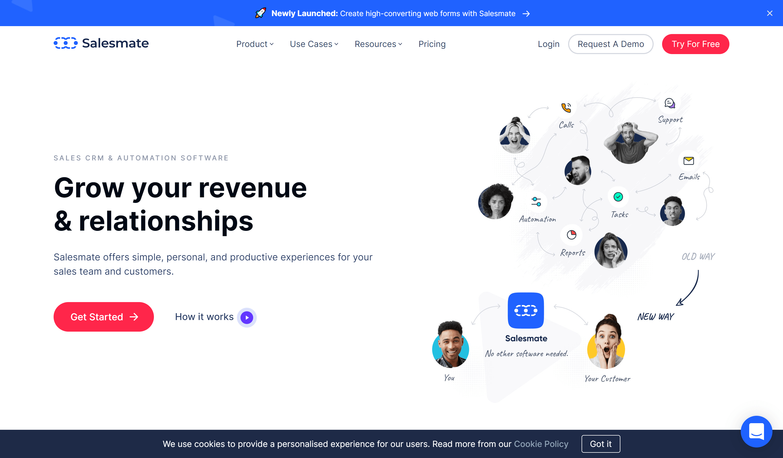 Salesmate agile crm alternatives