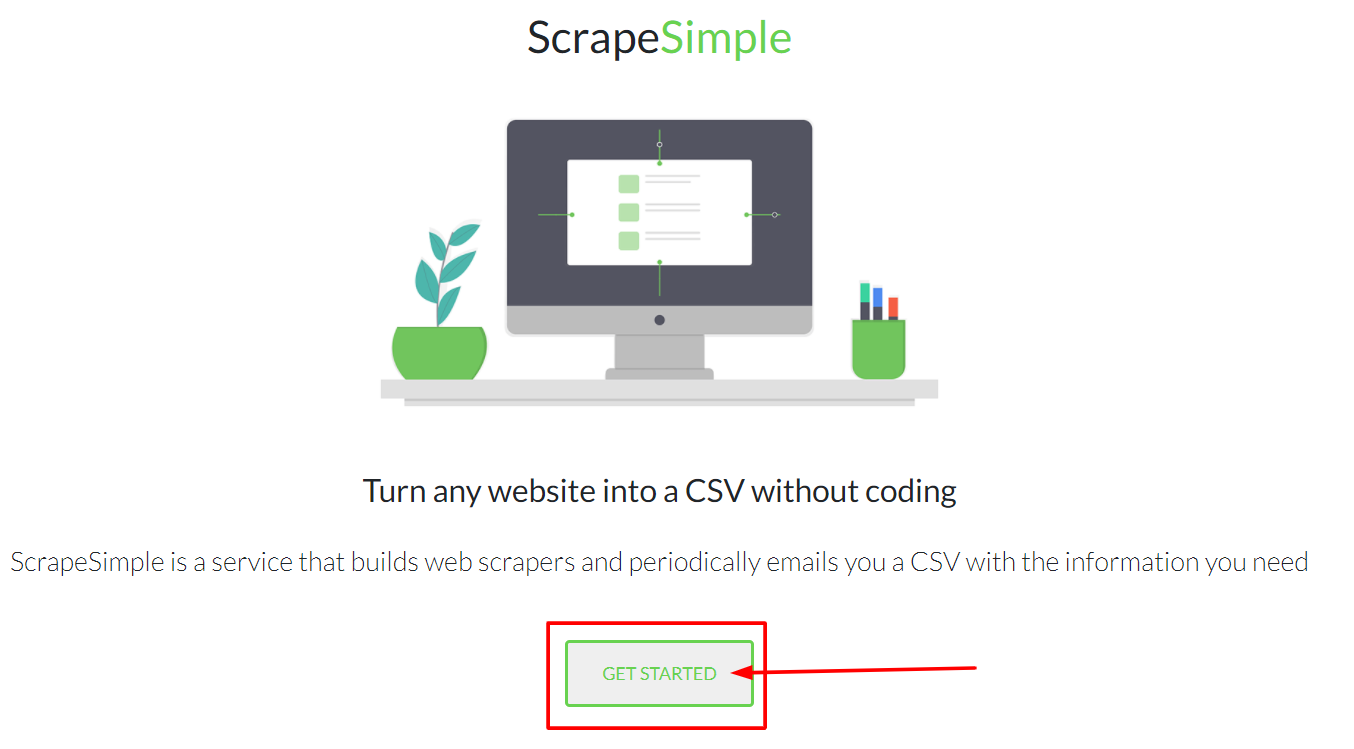 Scrape Simple - Overview