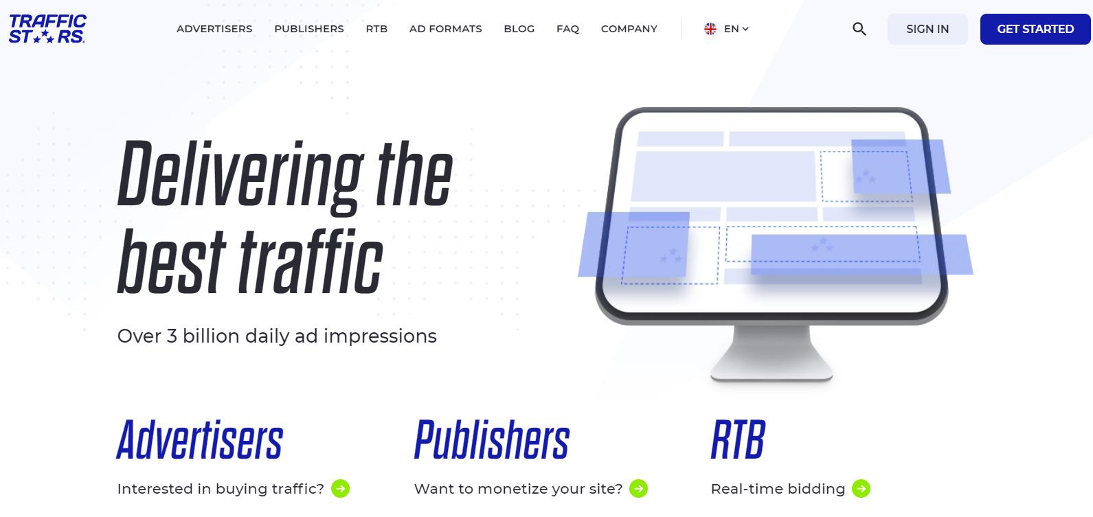 Trafficstars-Overview