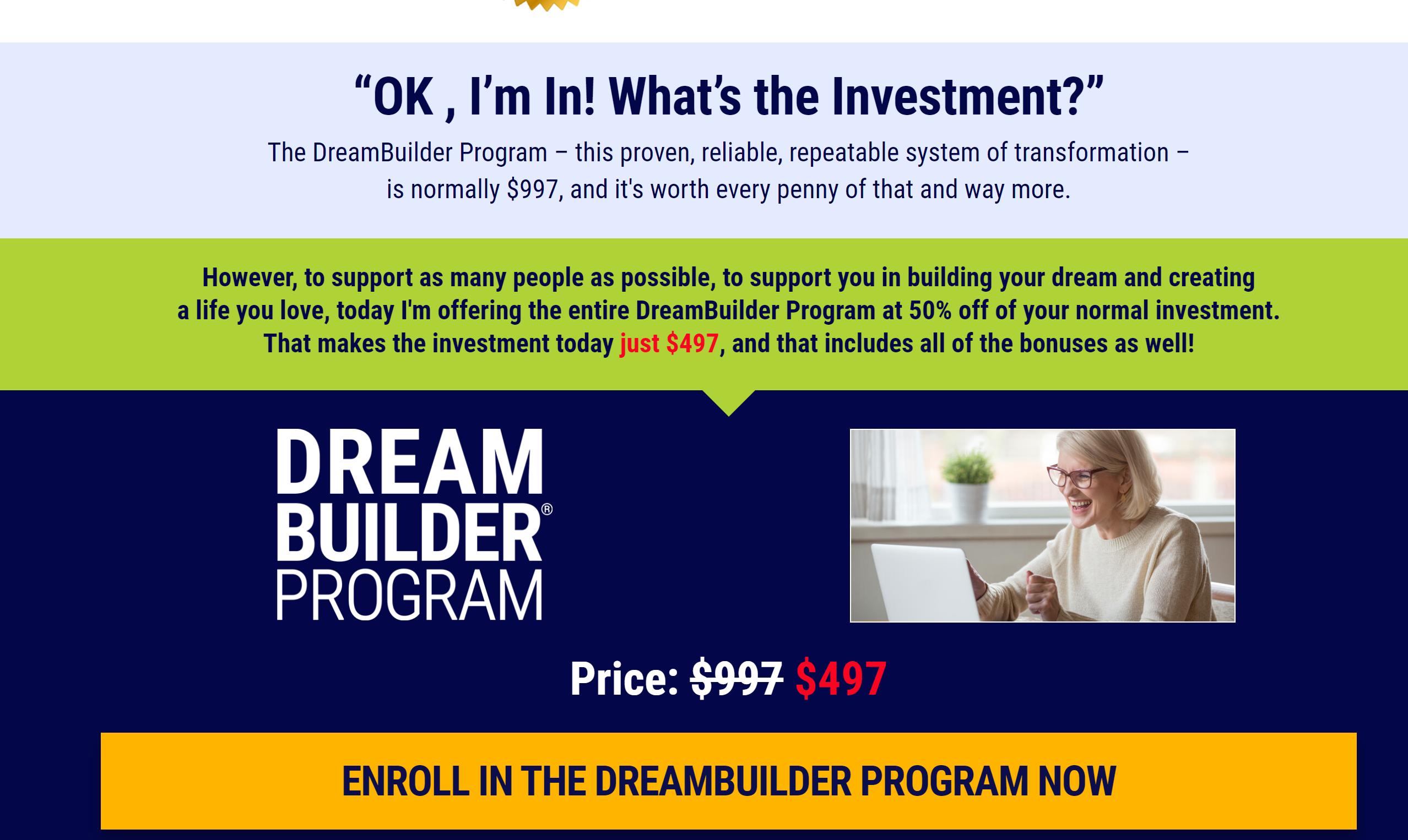 dreambuilder prrogram review online