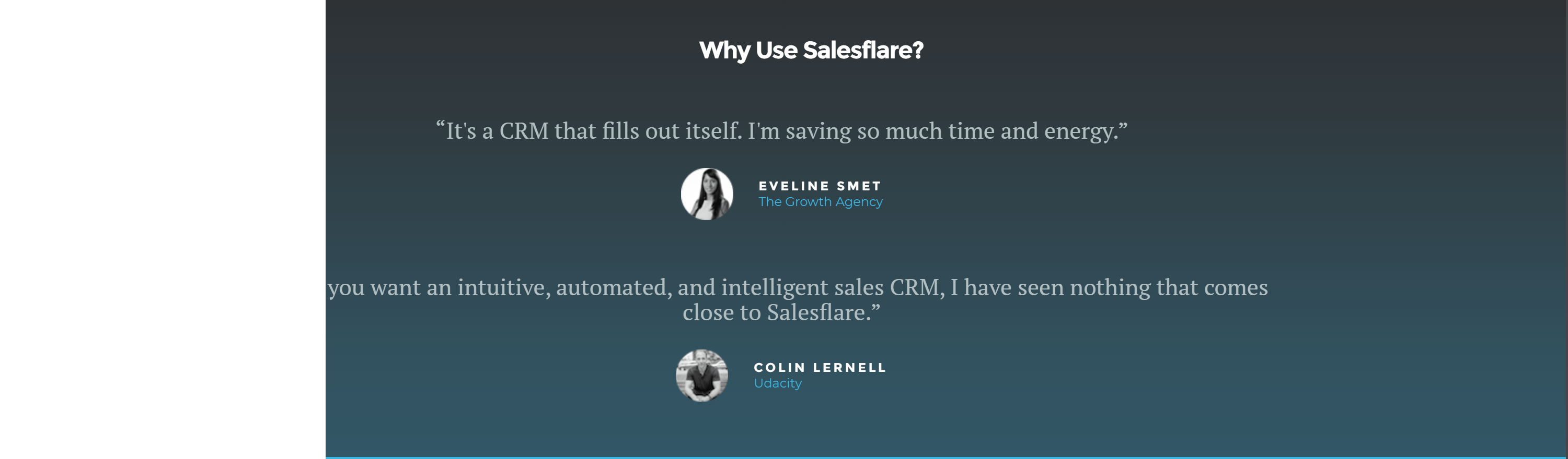 salesflare crm reviews