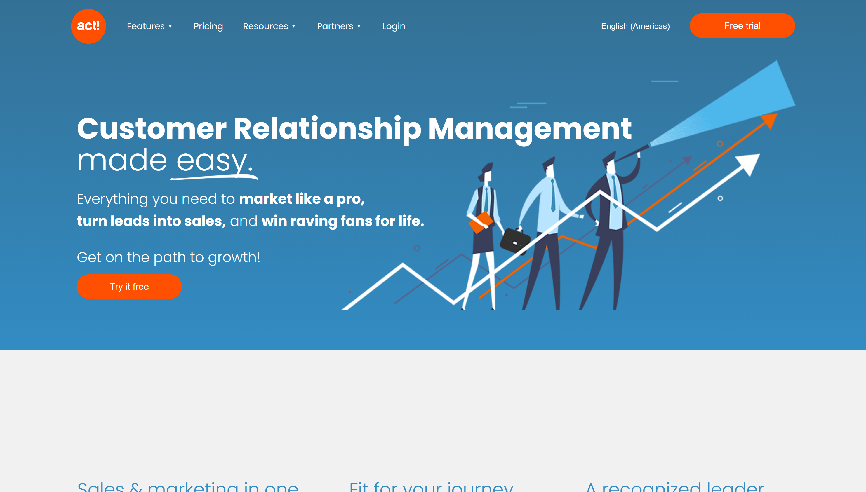 ACT CRM for ECommerce