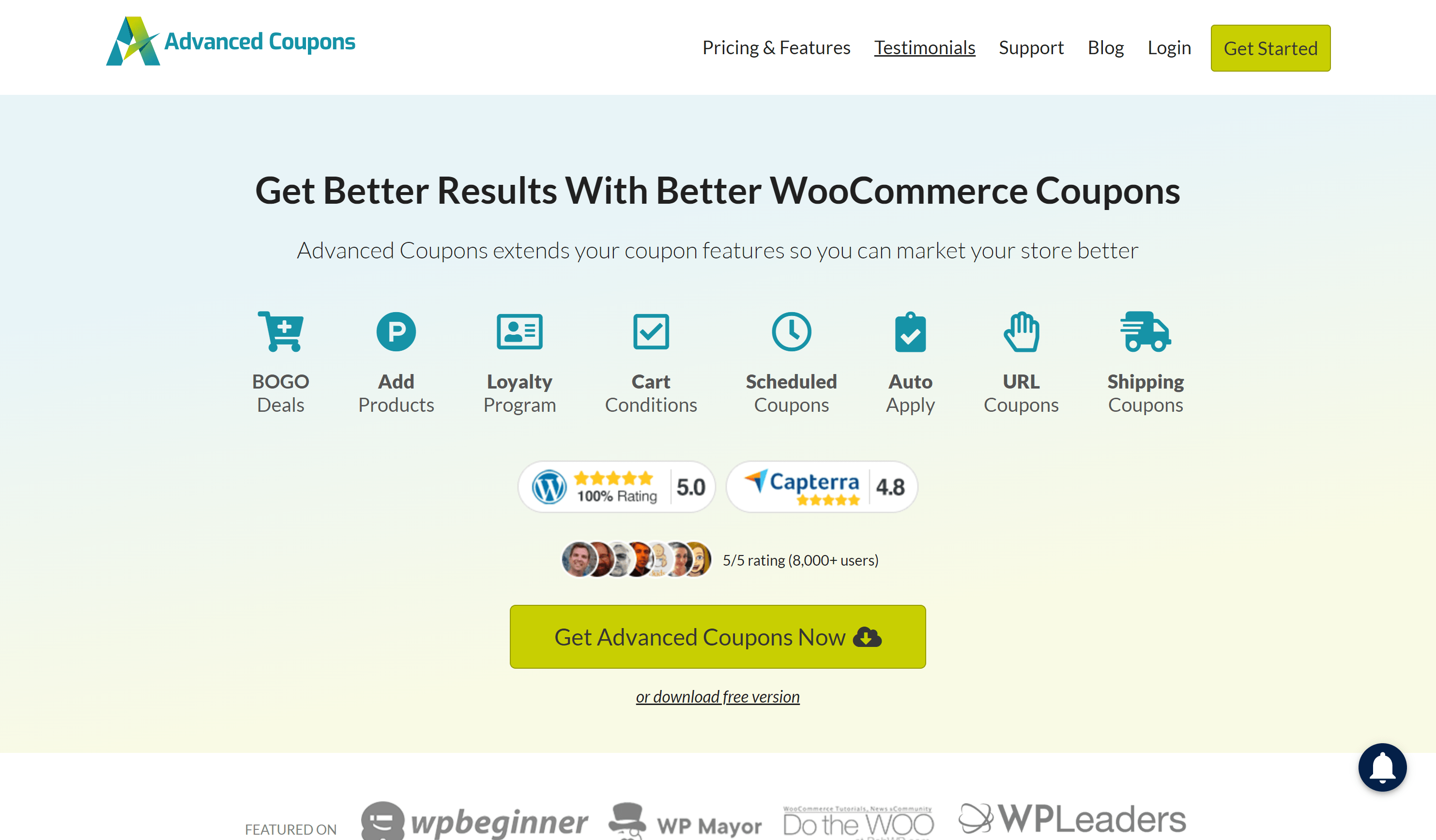 Advanced Coupons review