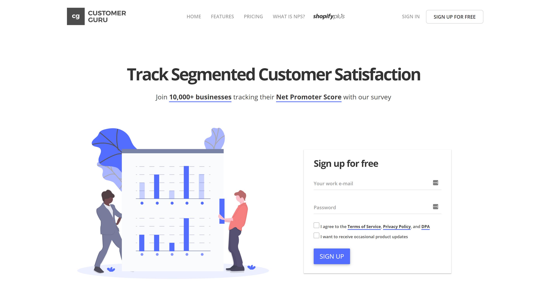 Customer.guru- best shopify customker apps