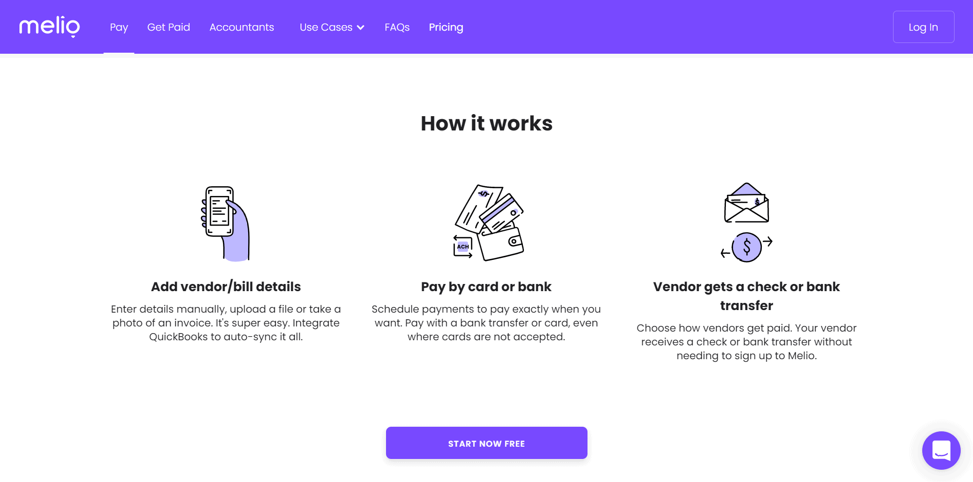 How it works Melio- Melio payments review