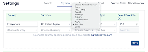 Indian Payment Gateway Integration- Spayee Review