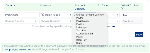 Indian payment gateway- Spayee vs Podia