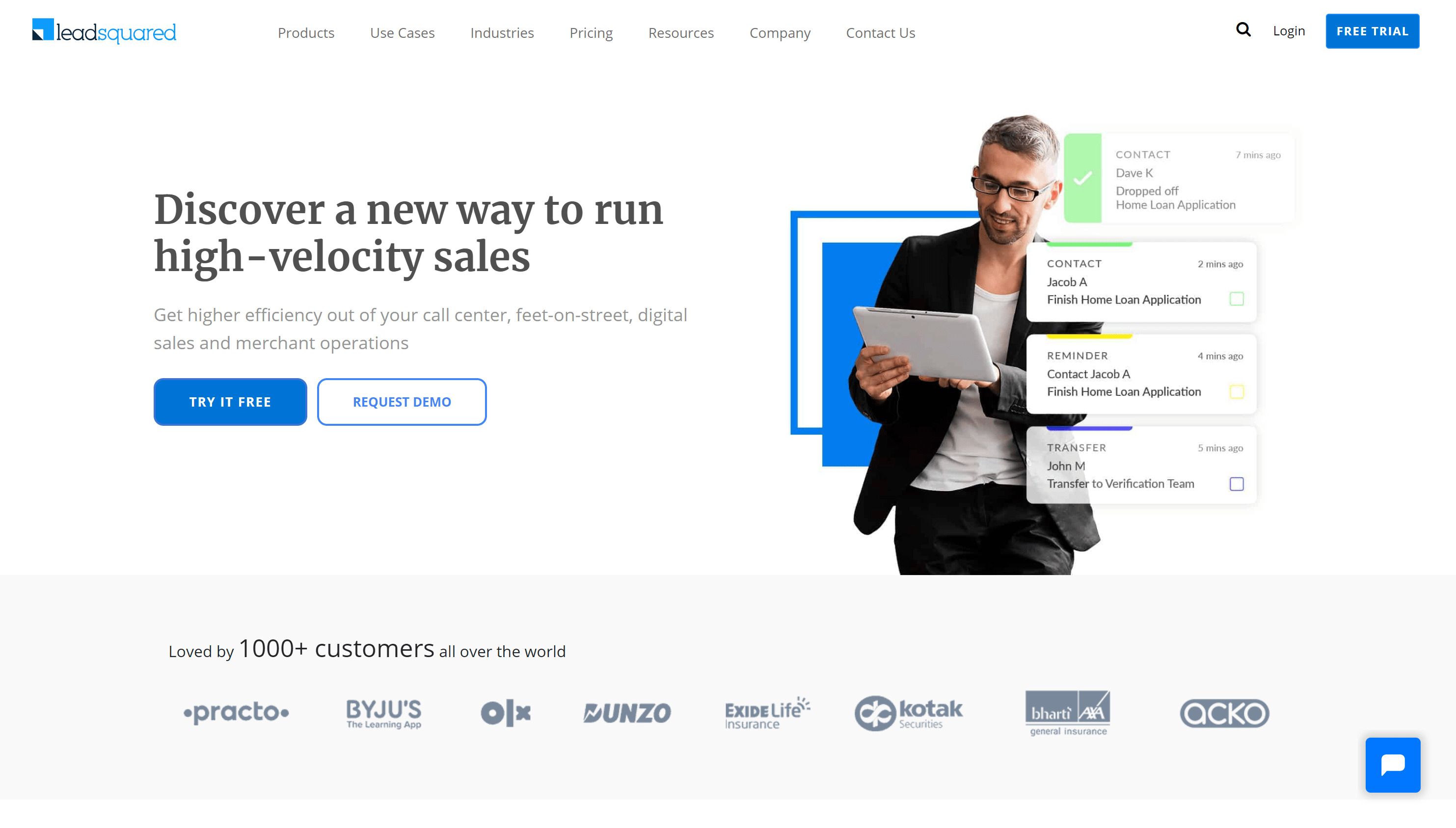Leadsquared - best crm for eCommerce