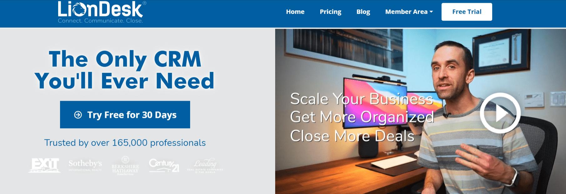 Liondesk : Best CRM for real estate