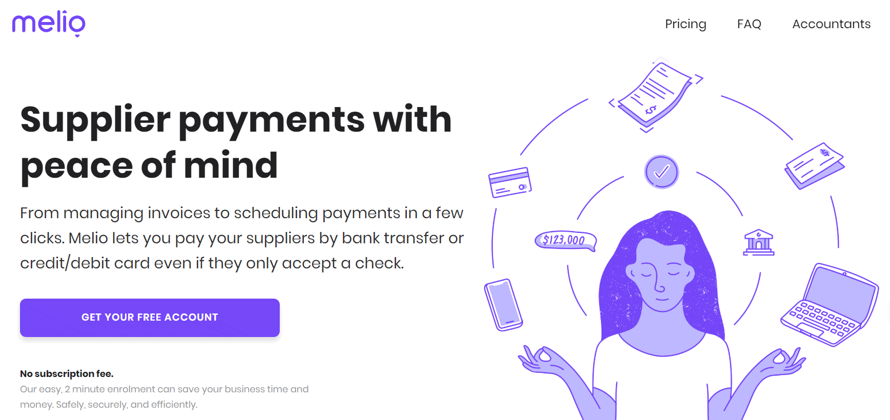 Melio Payments Suppliers