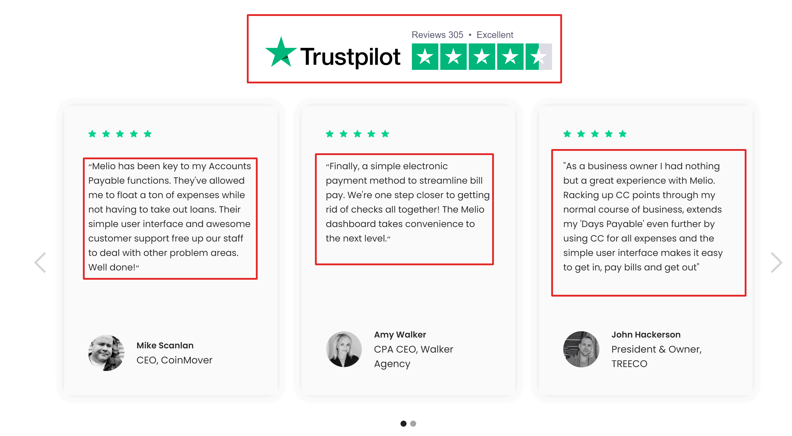 Melio Payments customer reviews