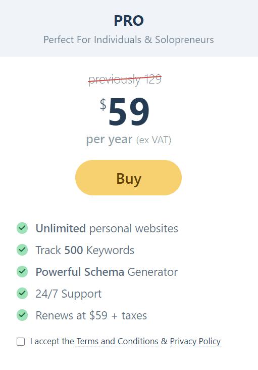 Rankmath pricing- Rank Math review