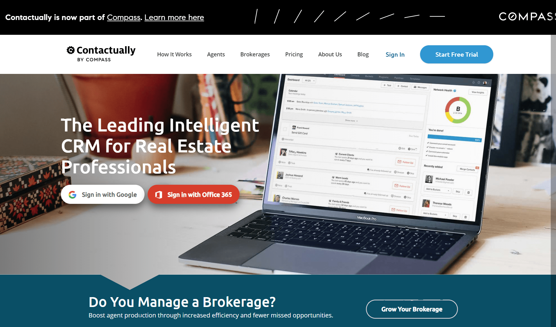 Contactually : Best CRM for real estate