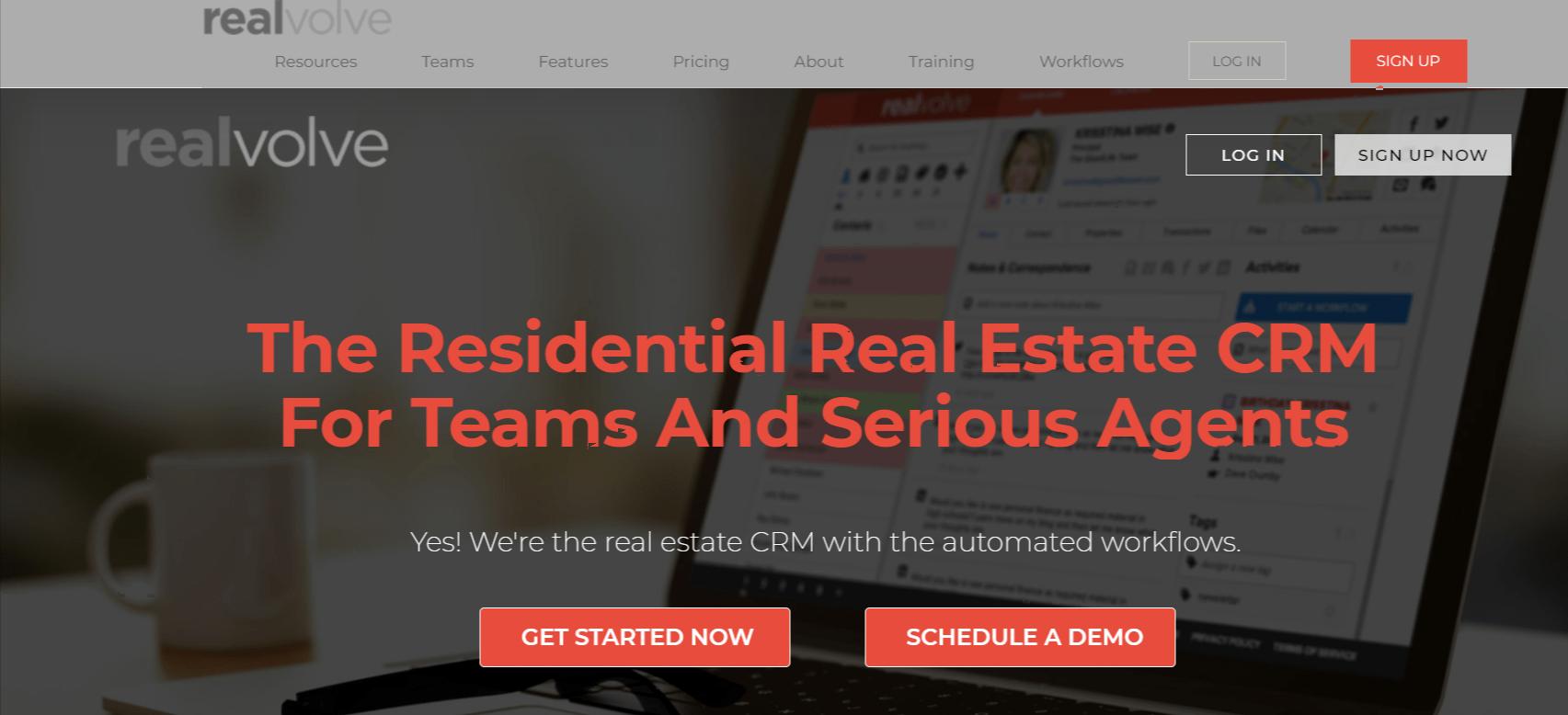 Realvolve - Best CRM for real estate