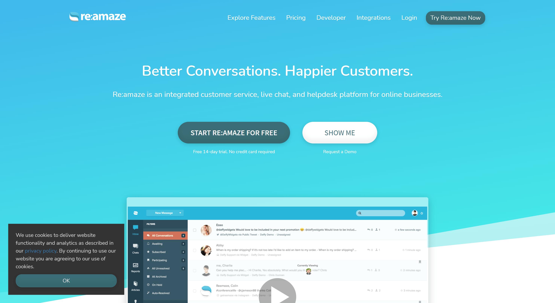 Reamaze- best shopify customer service
