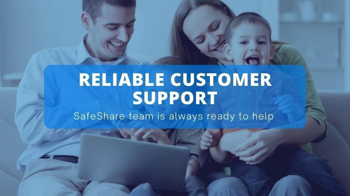 Safeshare cutsomer support- Safeshare Review