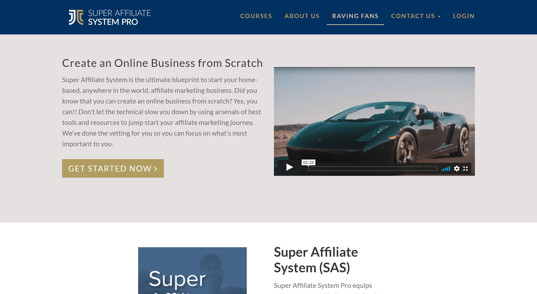 Super affiliate system- best affiliate marketing courses