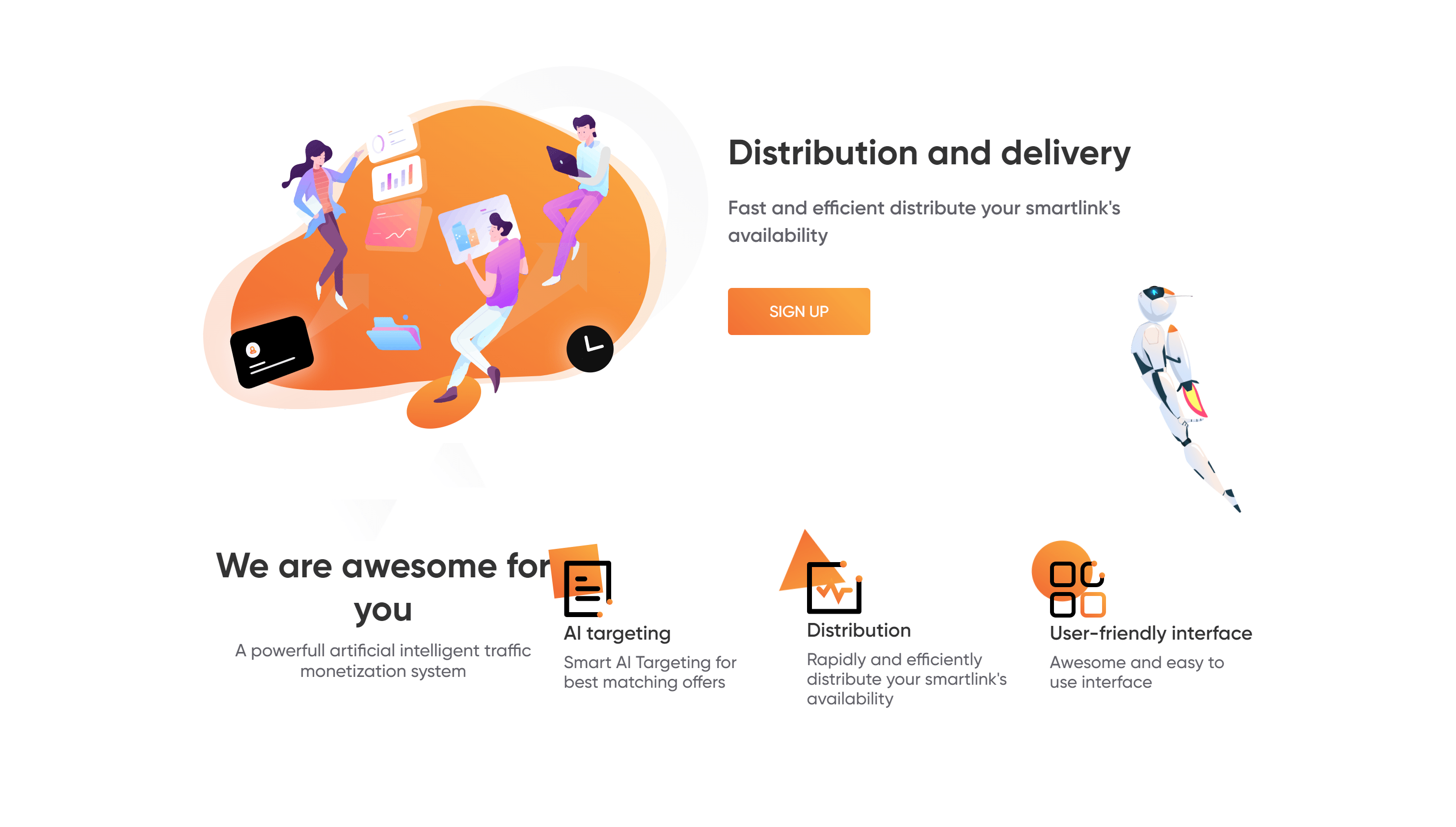 Trafee review- dashboard