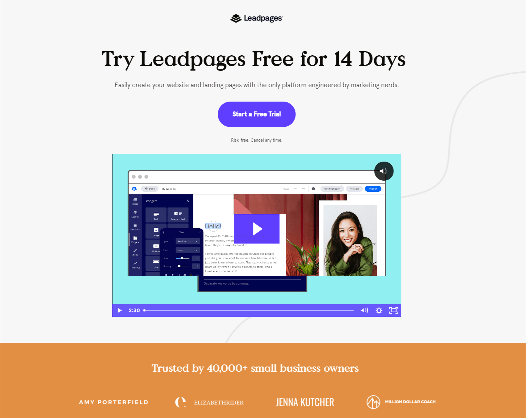 Leadpages Overview