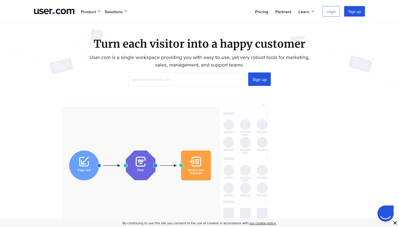 User.com- sharpring alternatives
