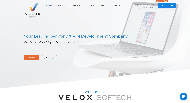 Velox software company- best sylius platform providers