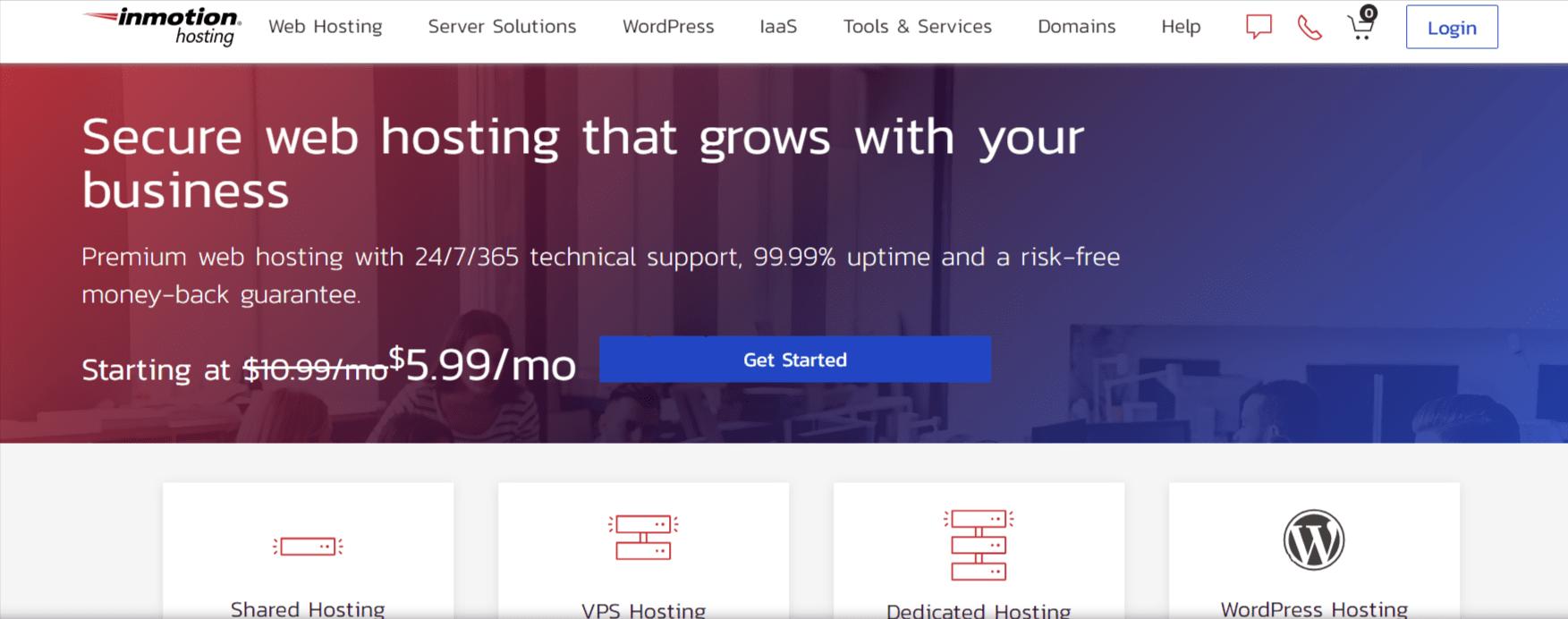 Inmotion- magento hosting