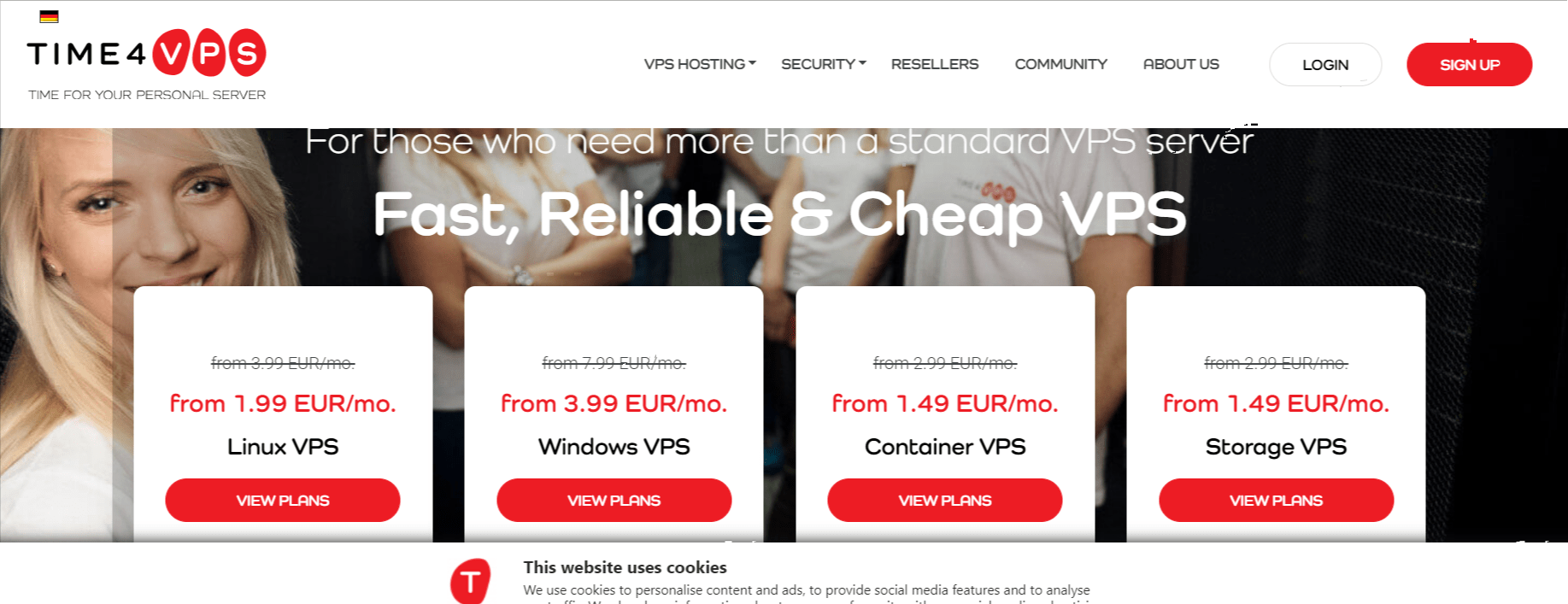Pricing Time4vps- Time4VPS Review