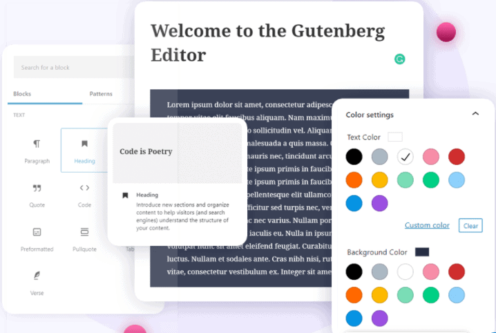 Compatability with gutenberg