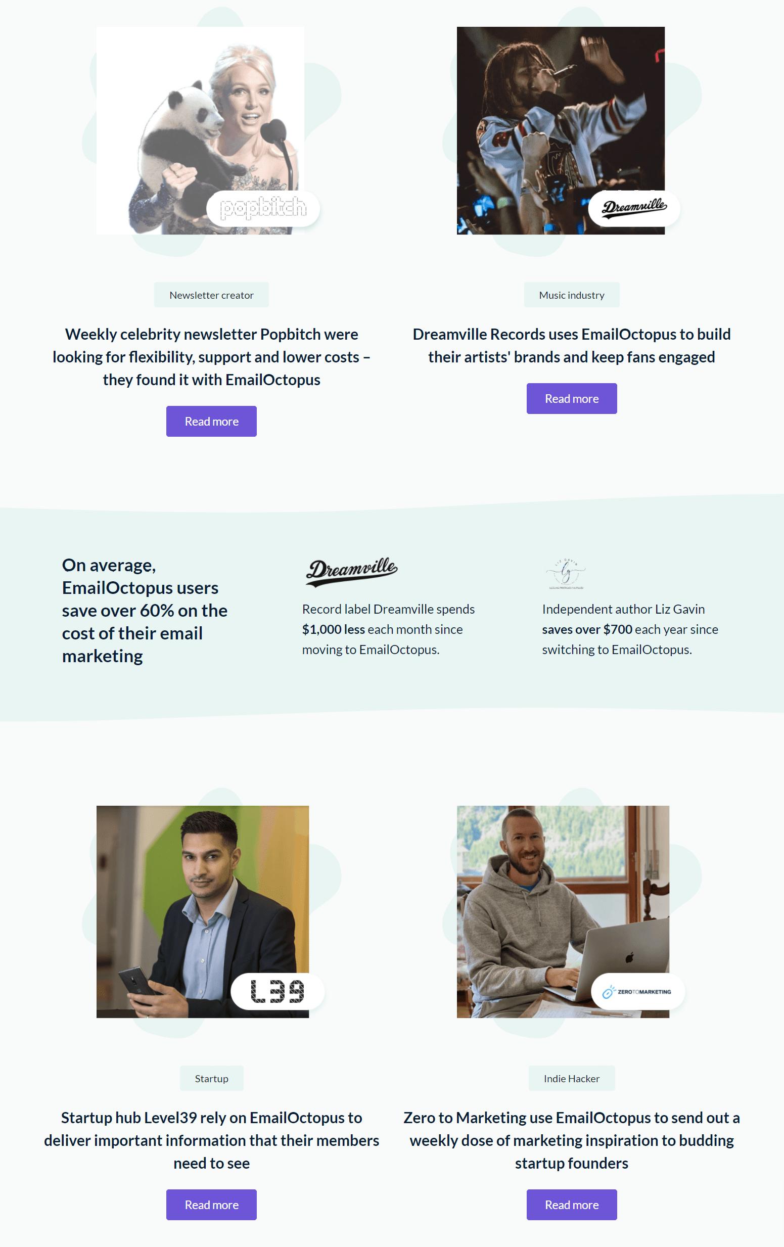 Customers – Emailoctopus Reviews