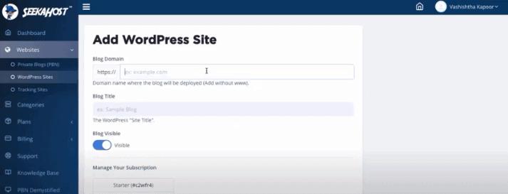 Download menu - Seekahost App Review