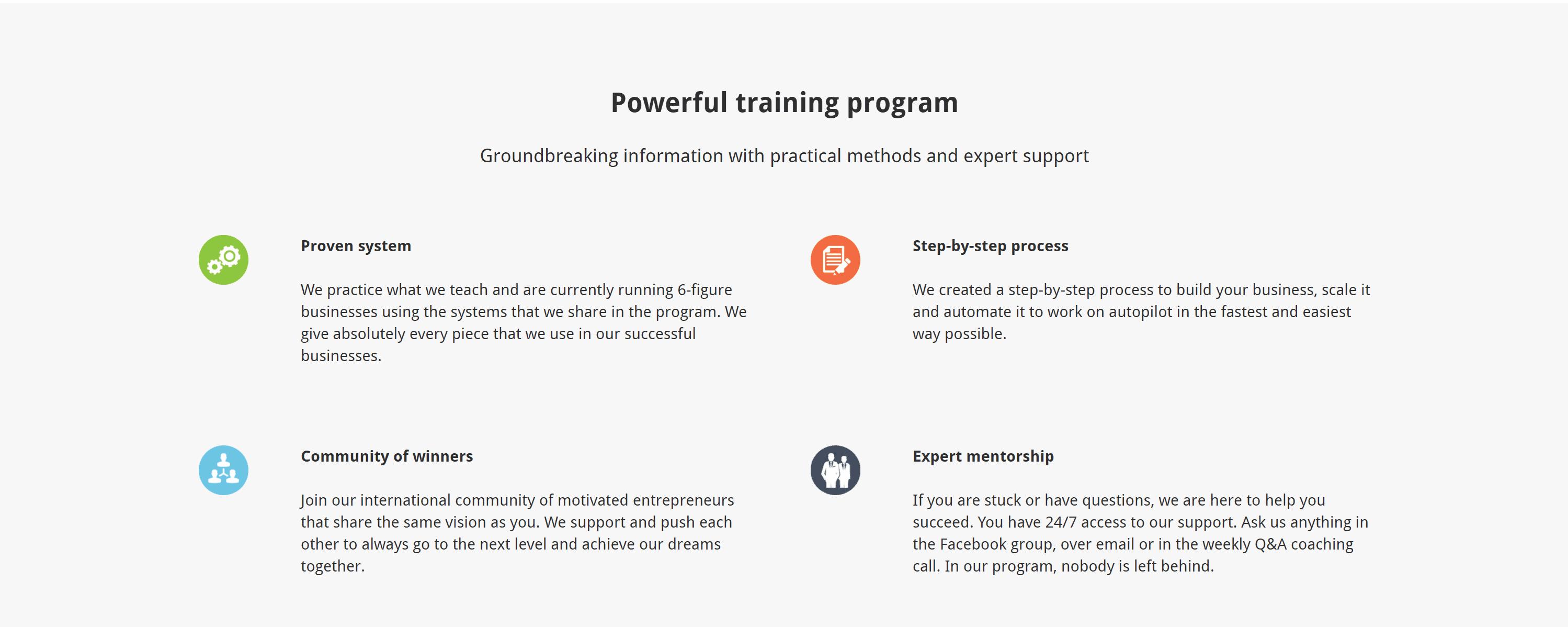Drop servicing bluepring training program- dylan singley review