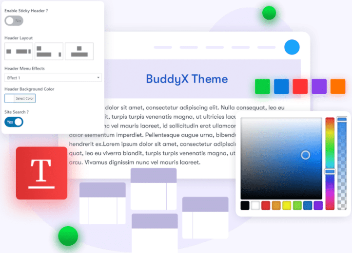 Easy to customize quick feature- BddyX Review