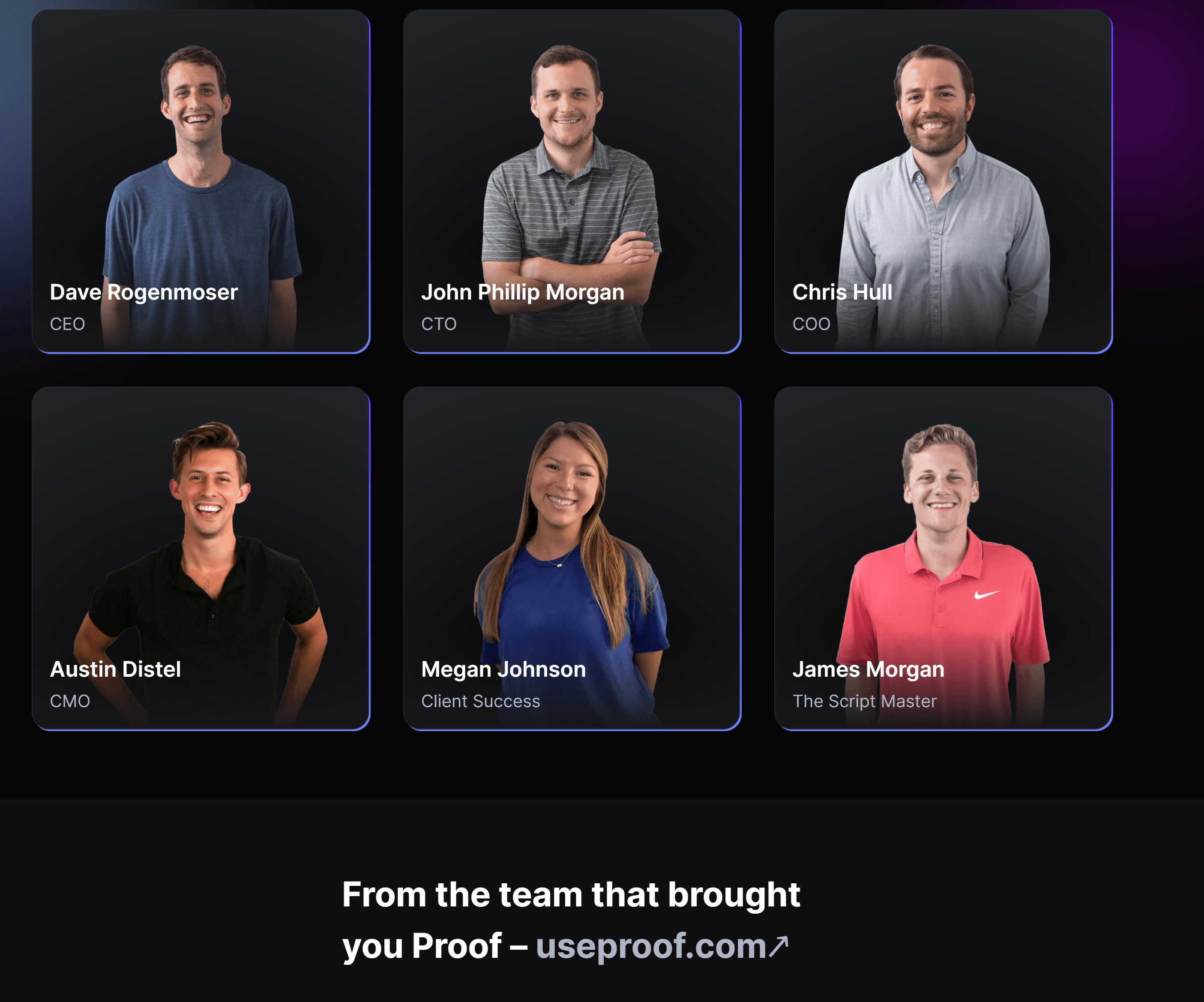 Meet the team behind Conversionai