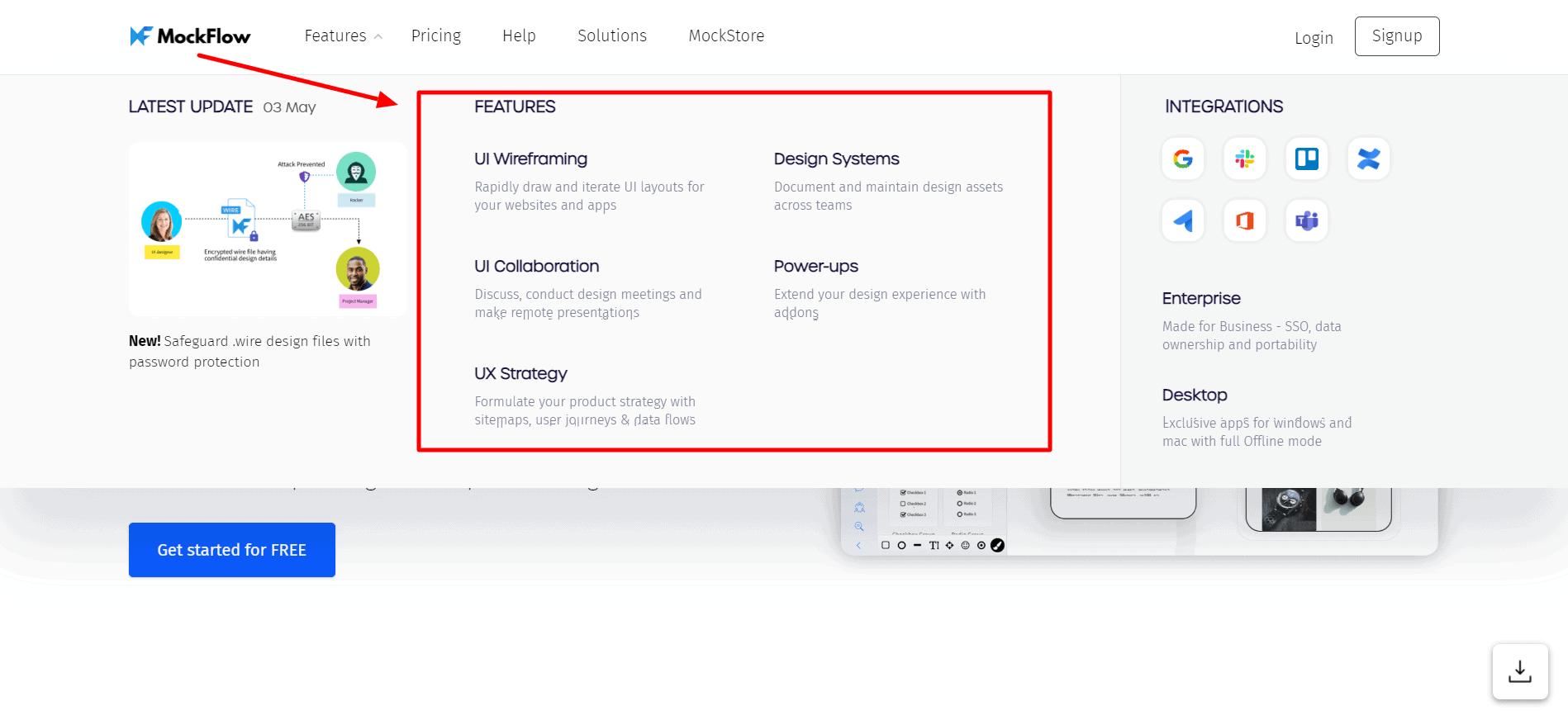 MockFlow - Features