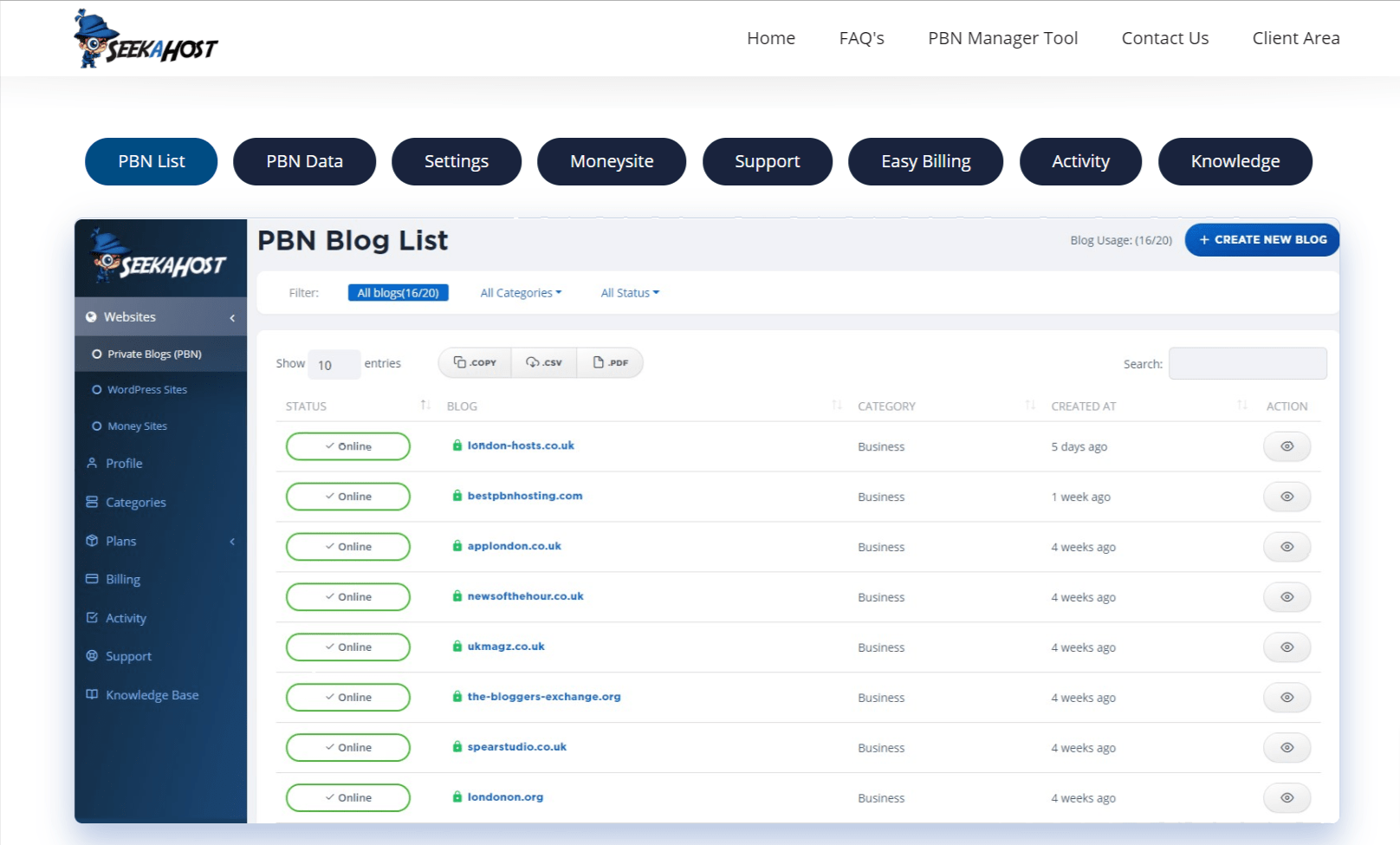 SeekaHost Features- SeekaHost App Review