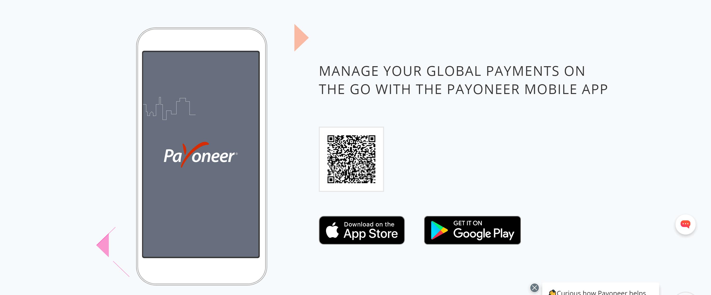 Payoneer mobile- Payoneer review