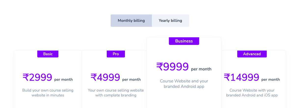 Pricing - spayee
