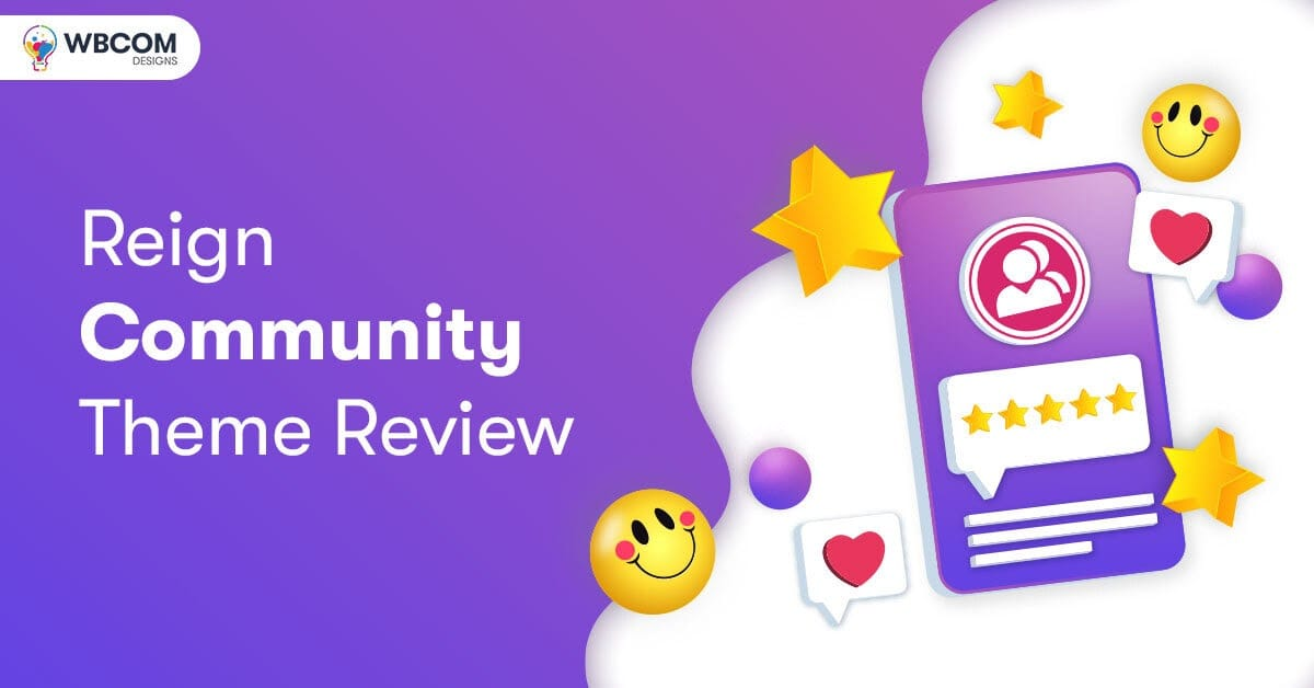 Reign Community theme review - Reign Review