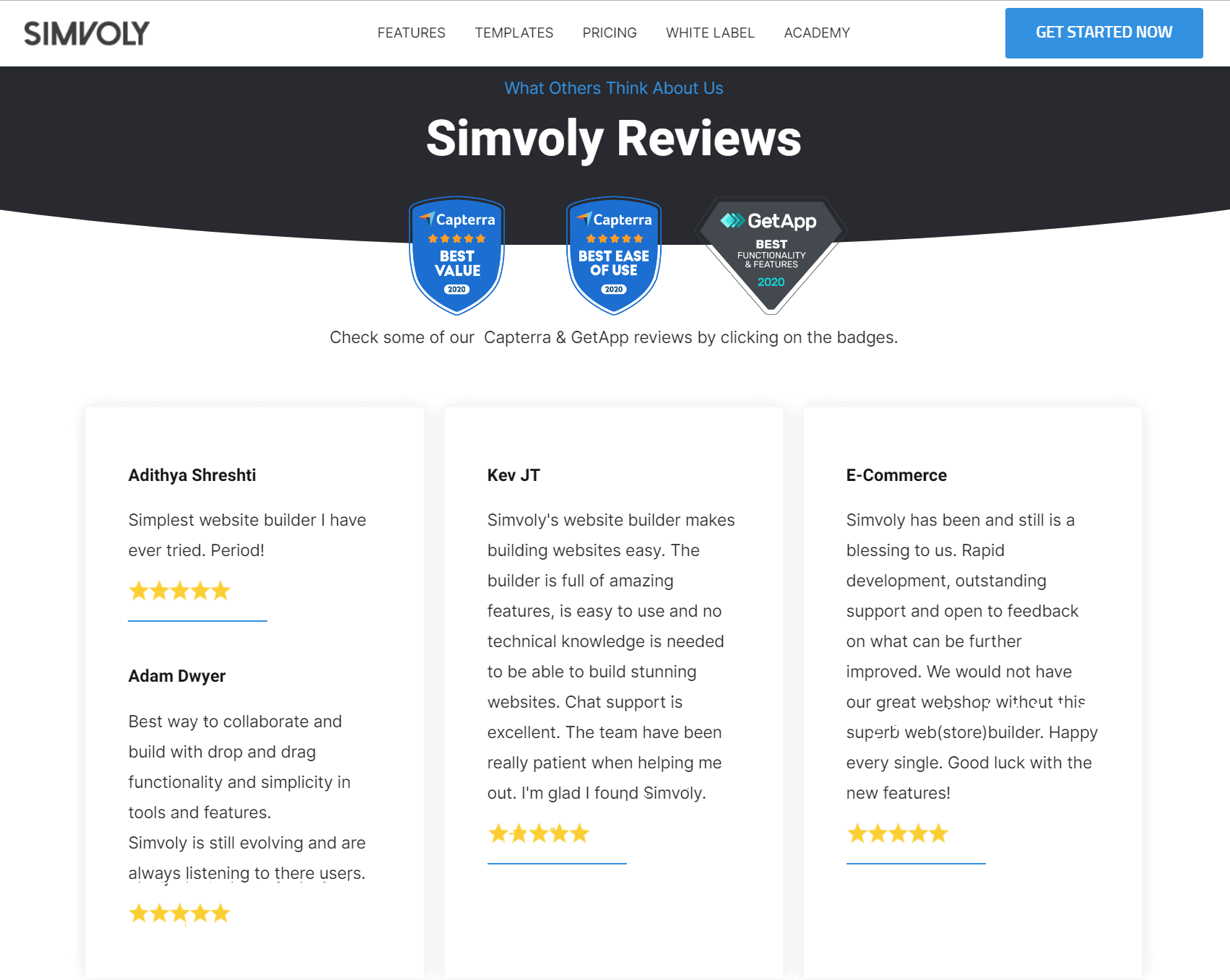 Simvoly Reviews-WordPress vs Simvoly