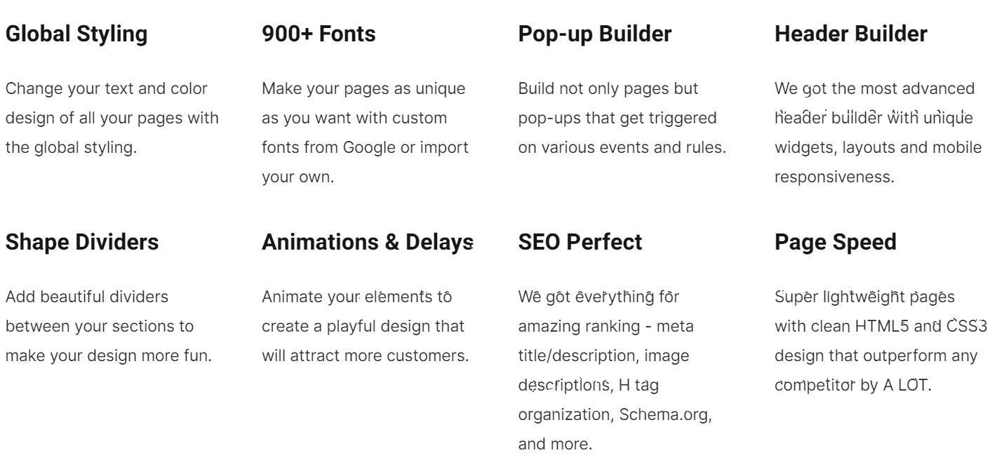 Simvoly website builder features-simvoly vs webflow