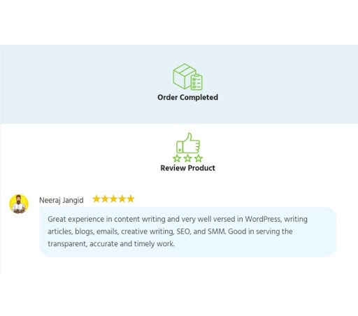 Trustfrul review system- Woo sell service review