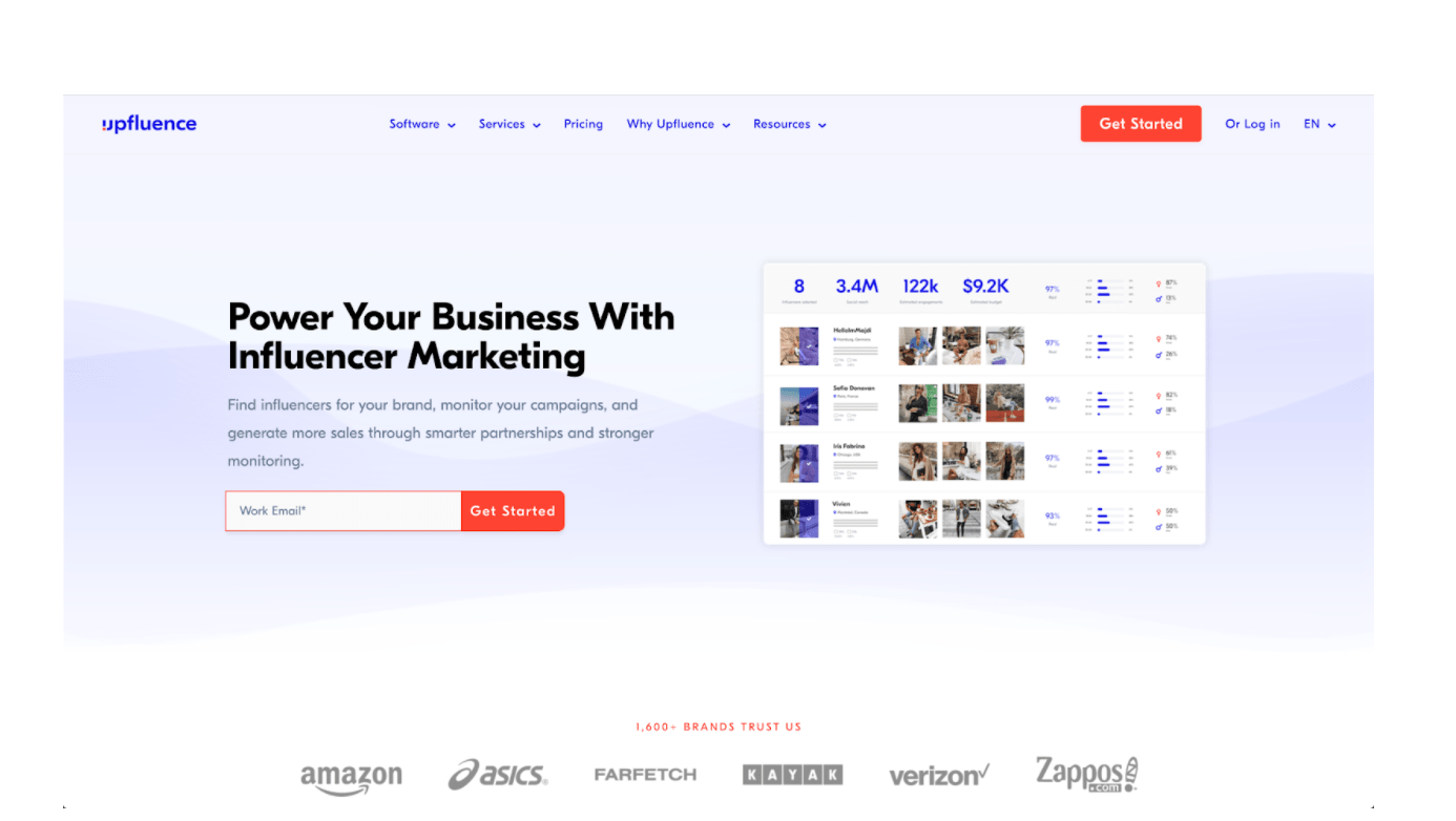 influencer grid tool- influence grid review