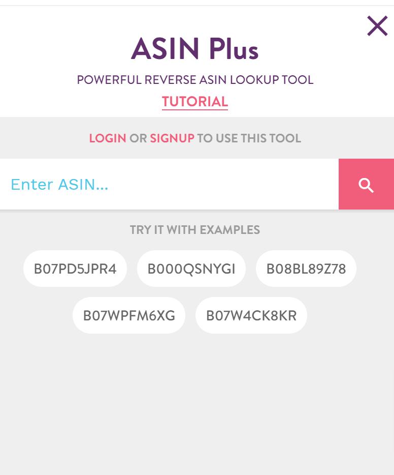 ASIN Plus by Merchantwords